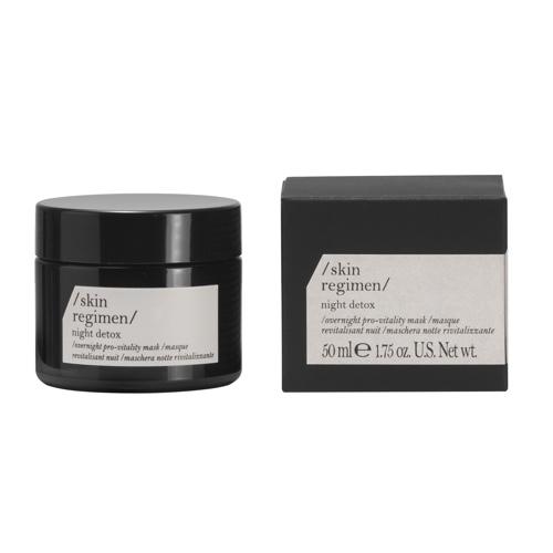 Skin regimen night detox