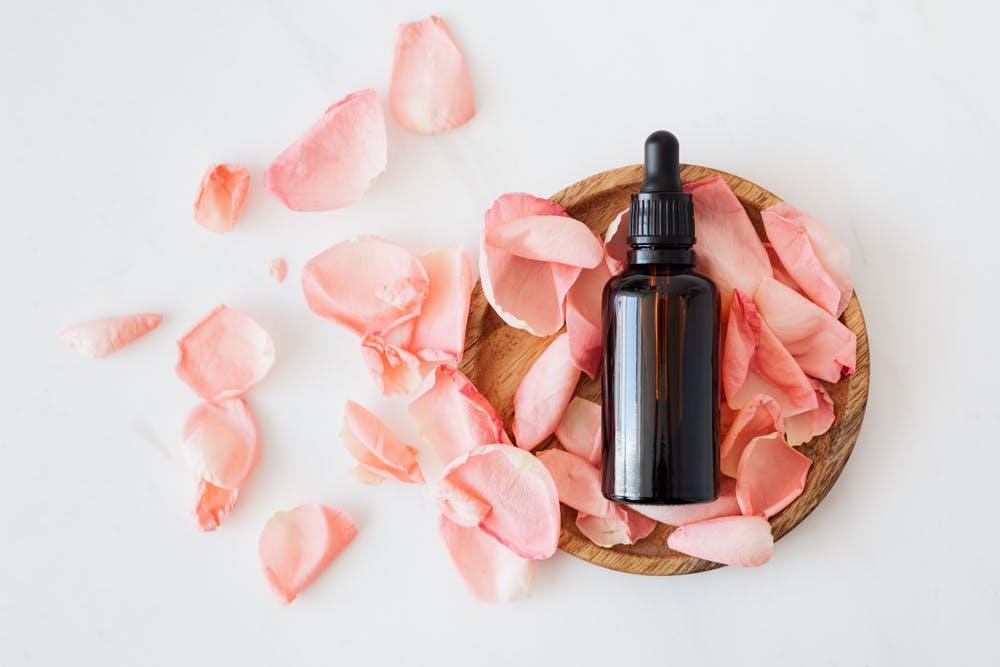 imagebild olja för torr hud